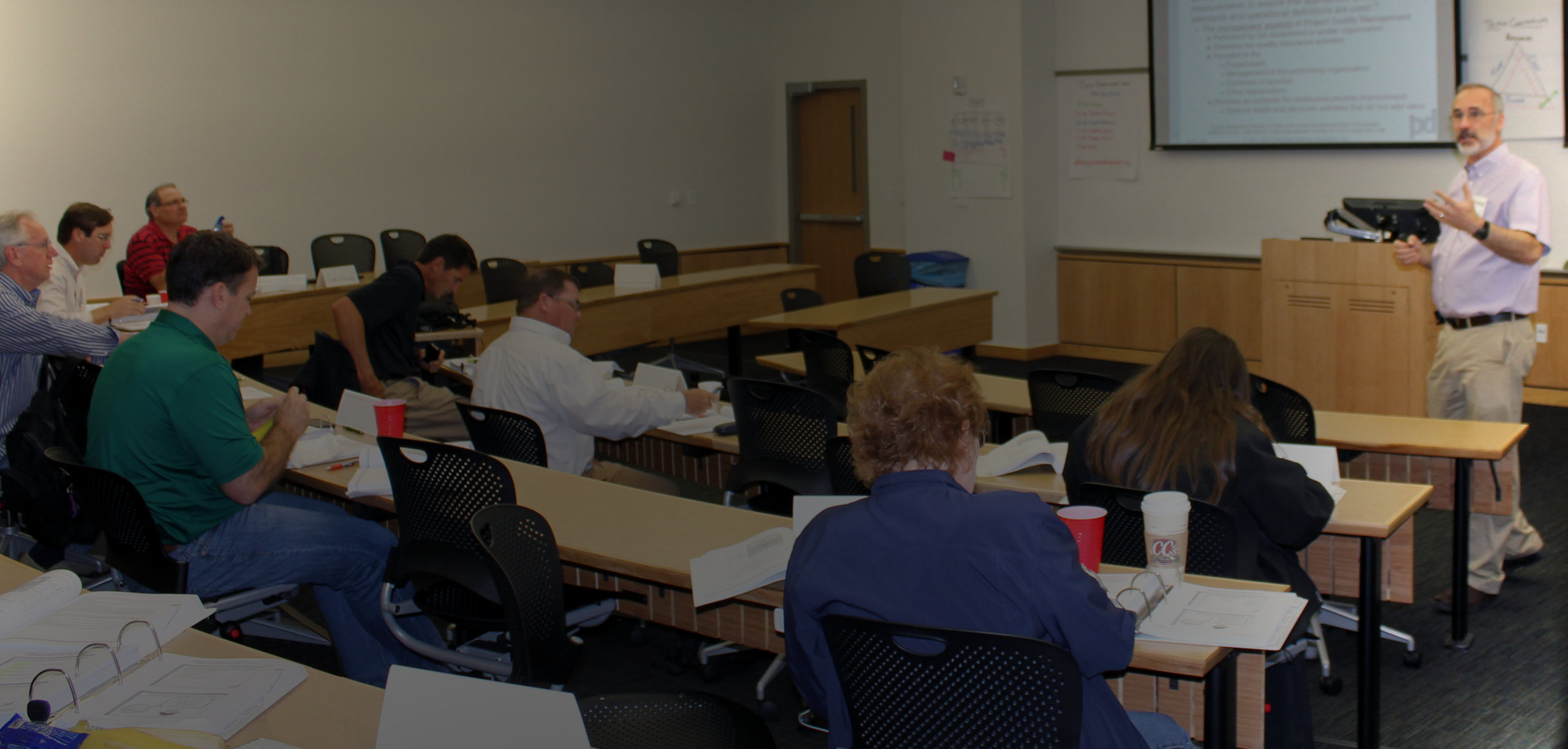 Doug Boebinger Teaching Project Management Training Course